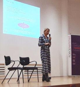 Cécile Viniane intervient pour Force Femmes